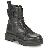 Zapatos Mujer Botas de caña baja Café Noir KINNEA Negro