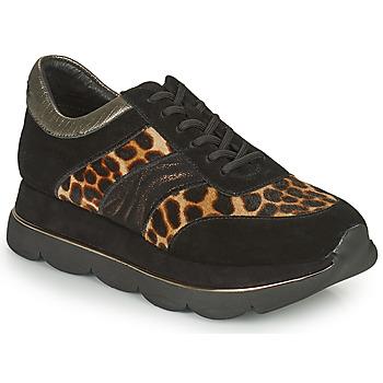 Zapatos Mujer Zapatillas bajas Café Noir BORDA Negro / Leo