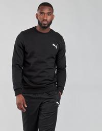 textil Hombre Sudaderas Puma ESS CREW SWEAT FL Negro