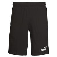 textil Hombre Shorts / Bermudas Puma ESS JERSEY SHORT Negro