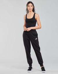 textil Mujer Pantalones de chándal Puma ESS SWEAT PANT FL CL Negro