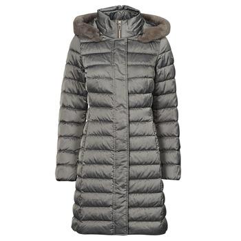textil Mujer Plumas Geox W BETTANIE LONG JKT Plata