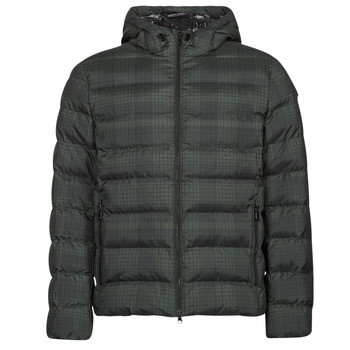 textil Hombre Plumas Geox SANDFORD Negro / Kaki