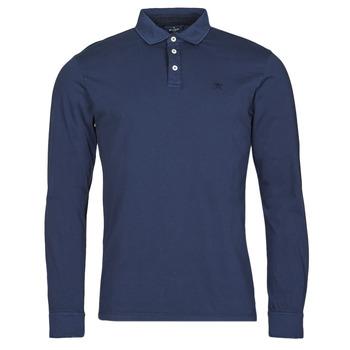 textil Hombre Polos manga larga Hackett HM550879 Azul