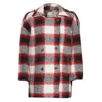 textil Mujer Abrigos Kaporal FEO Beige / Rojo