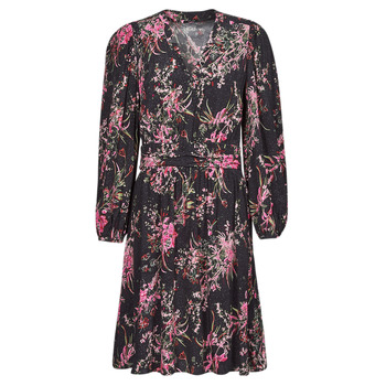 textil Mujer Vestidos cortos One Step FT30101 Negro / Multicolor