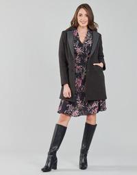 textil Mujer Abrigos One Step FT44061 Kaki / Gris