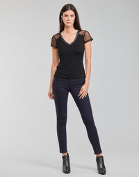 textil Mujer Pantalones con 5 bolsillos Morgan PETRA Marino