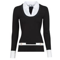 textil Mujer Jerséis Morgan MFLO Negro / Blanco