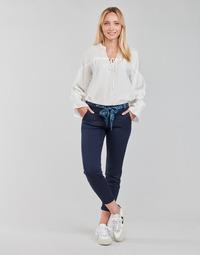 textil Mujer Pantalones con 5 bolsillos Freeman T.Porter CLAUDIA FELICITA Marino