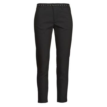 textil Mujer Pantalones con 5 bolsillos Freeman T.Porter CLAUDIA POLYNEO Negro