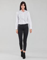 textil Mujer Pantalones con 5 bolsillos Freeman T.Porter TESSA CLASSICO Negro