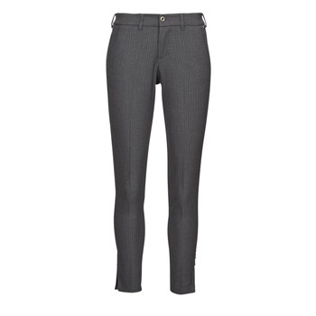 textil Mujer Pantalones con 5 bolsillos Freeman T.Porter ADELIE PRINCESS Gris / Antracita