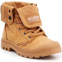 Zapatos Zapatillas altas Palladium Pampa Baggy NBK 76434-717 marrón