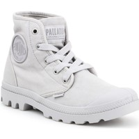 Zapatos Mujer Zapatillas altas Palladium Manufacture US PAMPA HI F Vapor 92352-074-M gris