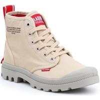 Zapatos Zapatillas altas Palladium Manufacture Pampa HI Dare 76258-274 beige