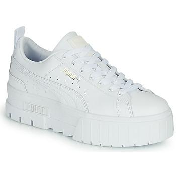 Zapatos Mujer Zapatillas bajas Puma MAYZE Blanco
