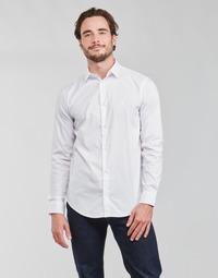 textil Hombre Camisas manga larga Emporio Armani 8N1C09 Blanco