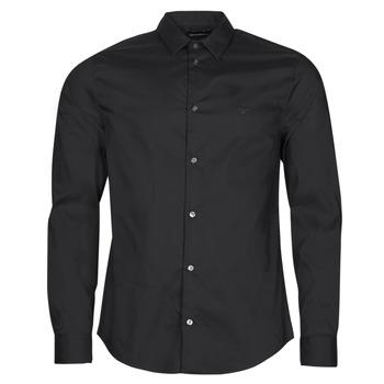 textil Hombre Camisas manga larga Emporio Armani 8N1C09 Negro