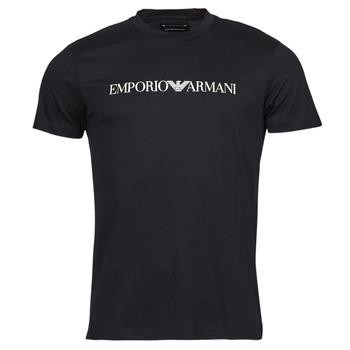 textil Hombre Camisetas manga corta Emporio Armani 8N1TN5 Negro
