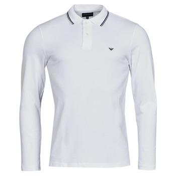 textil Hombre Polos manga larga Emporio Armani 8N1FB5 Blanco