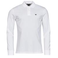 textil Hombre Polos manga larga Emporio Armani 8N1FQ0 Blanco