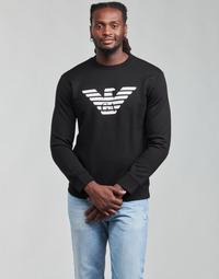textil Hombre Sudaderas Emporio Armani 8N1MR6 Negro