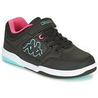 Zapatos Niña Zapatillas bajas Kappa KASH LOW EV Negro / Azul / Rosa