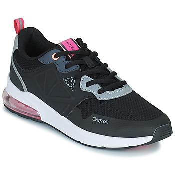 Zapatos Niña Zapatillas bajas Kappa SPLINTER LACE KID Azul / Rosa