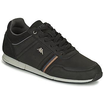 Zapatos Hombre Zapatillas bajas Kappa TYLER Negro