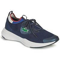 Zapatos Hombre Zapatillas bajas Lacoste RUN SPIN KNIT 0121 1 SMA Marino