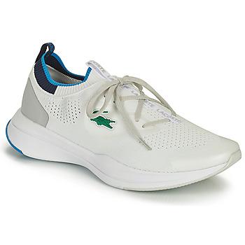 Zapatos Hombre Zapatillas bajas Lacoste RUN SPIN KNIT 0121 1 SMA Blanco / Azul