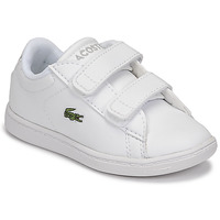 Zapatos Niños Zapatillas bajas Lacoste CARNABY EVO BL 21 1 SUI Blanco