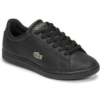 Zapatos Niños Zapatillas bajas Lacoste CARNABY EVO BL 21 1 SUJ Negro