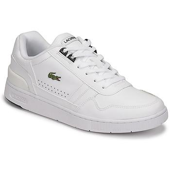Zapatos Mujer Zapatillas bajas Lacoste T-CLIP 0121 2 SFA Blanco