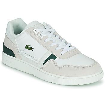 Zapatos Hombre Zapatillas bajas Lacoste T-CLIP 0120 3 SMA Blanco / Beige