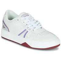 Zapatos Mujer Zapatillas bajas Lacoste L001 0321 1 SFA Blanco / Violeta