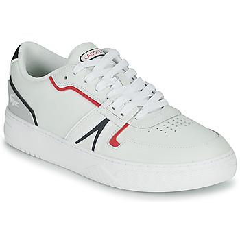 Zapatos Hombre Zapatillas bajas Lacoste L001 0321 1 SMA Blanco / Rojo / Azul