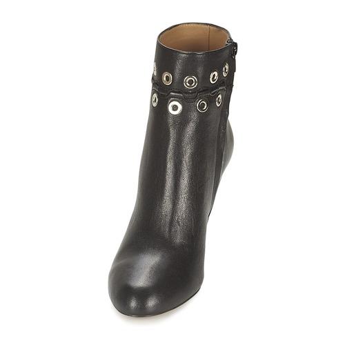 Zapatos Negro Mujer Mini Sonia Œillets Low Boots Rykiel k8OnXN0wP