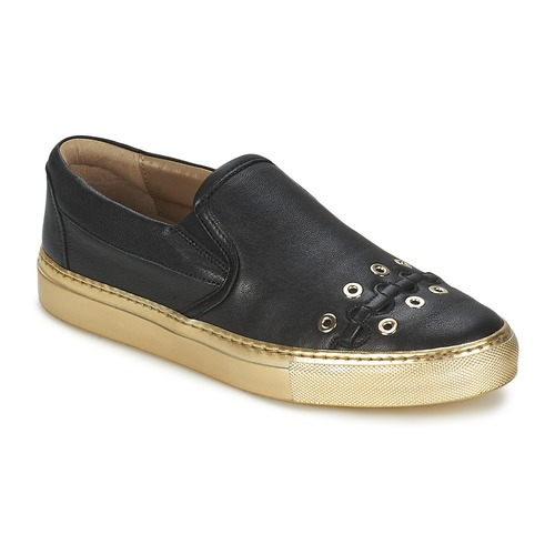 Zapatos Mujer Slip on Sonia Rykiel MINI ŒILLETS Negro