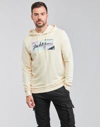 textil Hombre Sudaderas Jack & Jones JORLOGON Beige