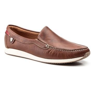 Zapatos Hombre Mocasín Iberico Shoes Mocasines de hombre de piel by Ibérico Marron