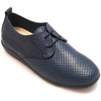 Zapatos Mujer Derbie 24 Hrs 24823 Azul