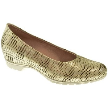 Zapatos Niña Bailarinas-manoletinas Pitillos MANOLETINAS  ORO Amarillo