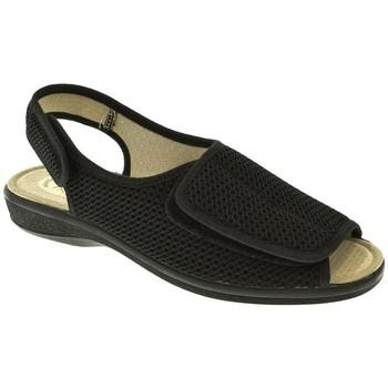 Zapatos Mujer Pantuflas Pinturines ZAPATILLAS SRA   NEGRO Negro