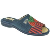 Zapatos Mujer Pantuflas Pinturines ZAPATILLAS SRA   MARINO Azul