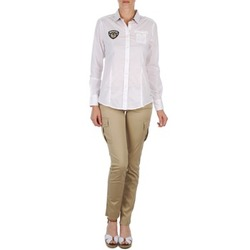 textil Mujer pantalones con 5 bolsillos Napapijri MYOSA Beige