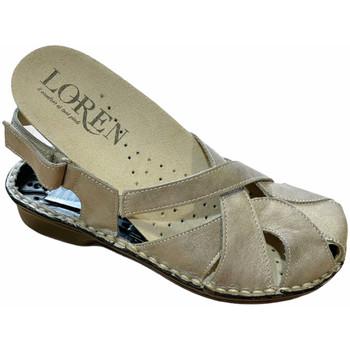 Zapatos Mujer Sandalias Calzaturificio Loren LOM2867tor tortora