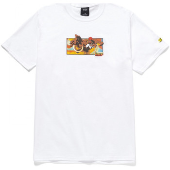 textil Hombre Camisetas manga corta Huf T-shirt dhalsim ss Blanco