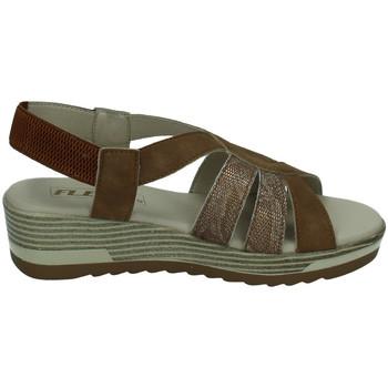 Zapatos Mujer Sandalias Flex Pies Sandalias de piel BRONCE